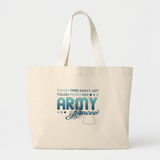 Tough People Army (Fiancee) Large Tote Bag