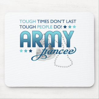 Tough People Army (Fiancee) Mouse Pads