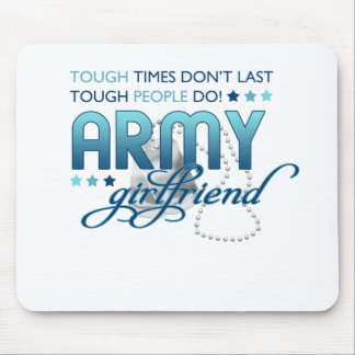 Tough People Army Girlfriend Mouse Pad