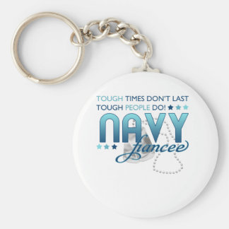 Tough People (Navy Fiancee) Key Chains