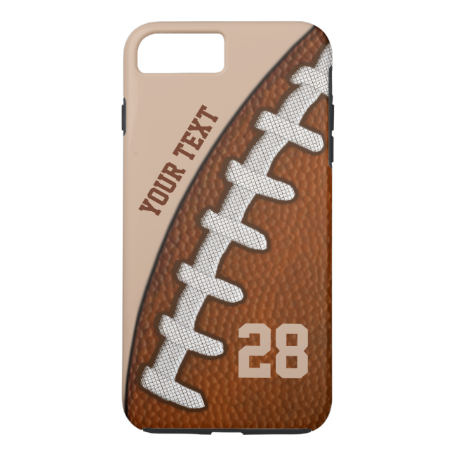 TOUGH PERSONALIZED Football iPhone 6 PLUS Cases
