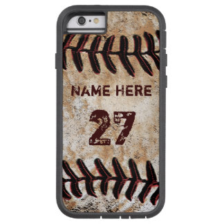 Tough Personalized Vintage Baseball iPhone 6S Case