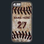 "Tough Personalized Vintage Baseball iPhone Cases<br><div class=""desc"">Newest to Older iPhone Baseball Case, Personalized. Cool Xtreme Tough Personalized Vintage Baseball iPhone Cases. Many style of baseball phone cases and other device cases - (Older to NEWEST Baseball iPhones Cases for guys). IPhone Baseball Cases. Call Designer Linda for HELP and Design CHANGES: 239-949-9090 Click &quot;abc Personalize this template...</div>"