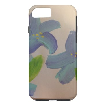 Tough phone case with island flowers