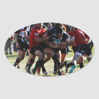 Tough Run Oval Sticker