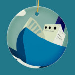 Tough Sailing Ornament
