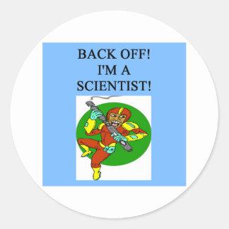 tough scientist sticker