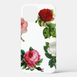 Tough Shock Protection Floral iPhone 12 Case