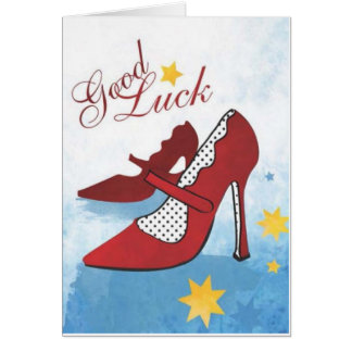 Tough Shoes to Fill Greeting Card