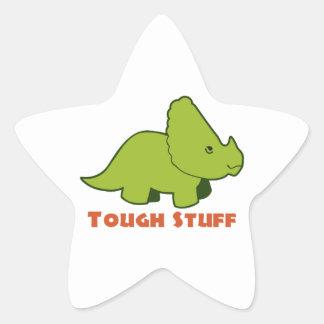 Tough Stuff Star Sticker
