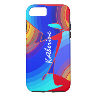 Tough Style iPhone 7 case Fullcolor for Katherine
