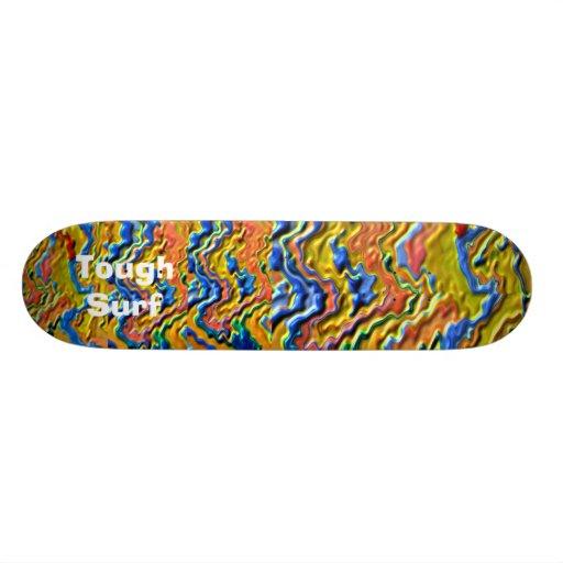 Tough Surf Royal Gold Skate Board Decks