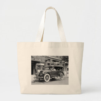 Tough Tires, 1922 Canvas Bag