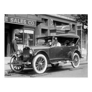 Tough Tires, 1922 Postcard