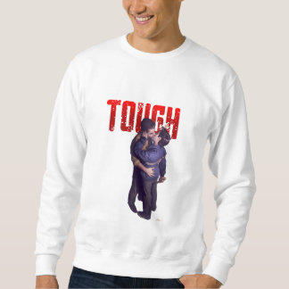Tough - Title and Kiss (On Chest) Sweatshirt