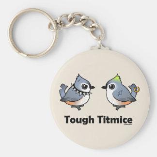 Tough Titmice Key Chain