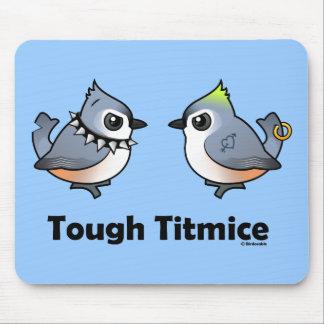 Tough Titmice Mouse Pads
