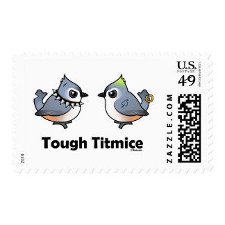Tough Titmice Postage Stamp