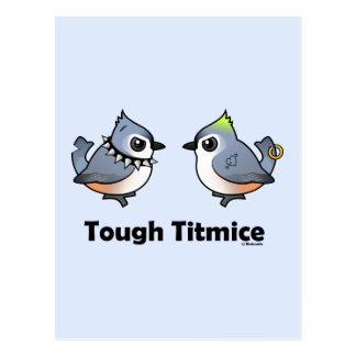 Tough Titmice Postcards