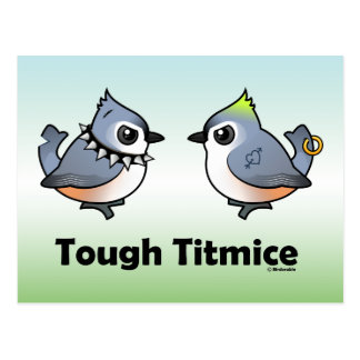Tough Titmice Post Cards