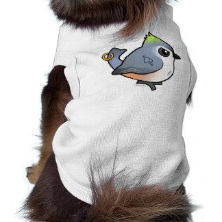 Tough Titmouse Dog Shirt