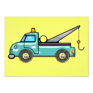 Tough Tow Truck Card