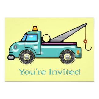 Tough Tow Truck Invite