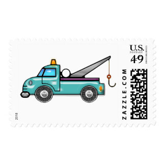 Tough Tow Truck Postage