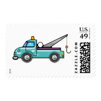 Tough Tow Truck Postage