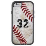 Tough XTreme iPhone 6 Baseball Case PERSONALIZED