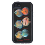 Tough Xtreme of Wild Discusfish iPhone 5 Case and