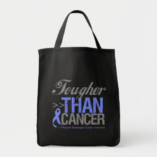 Tougher Than Cancer - Esophageal Cancer Tote Bag