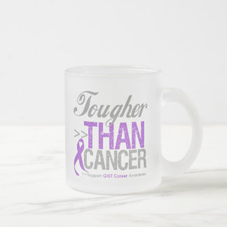Tougher Than Cancer - GIST Cancer 10 Oz Frosted Glass Coffee Mug