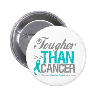 Tougher Than Cancer - Ovarian Cancer 2 Inch Round Button