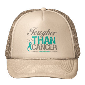Tougher Than Cancer - Ovarian Cancer Trucker Hat