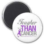 Tougher Than Cancer - Pancreatic Cancer Magnet