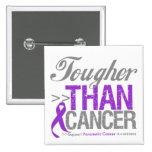 Tougher Than Cancer - Pancreatic Cancer Pin