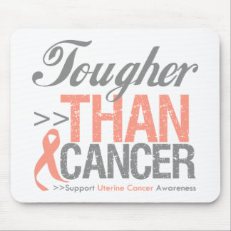 Tougher Than Cancer - Uterine Cancer Mouse Pad