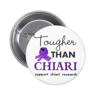 Tougher than Chiari Pinback Button