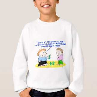 toughest soldier vacuum cleaner sweatshirt