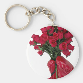 ToughLoveofRoses092011 Basic Round Button Keychain