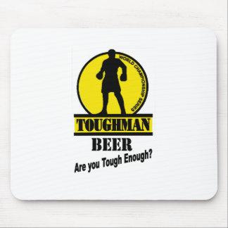 Toughman Beer Shirt Mouse Pad