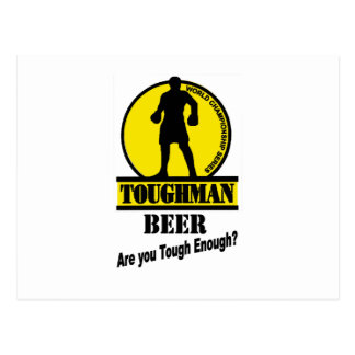 Toughman Beer Shirt Postcard