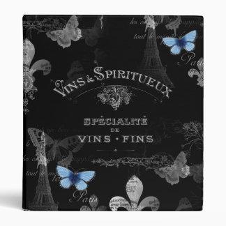 Toujours Paris Butterflies Collage Binder