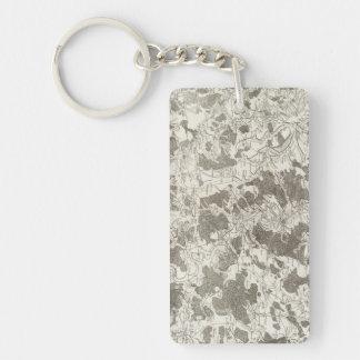 Toul Rectangular Acrylic Key Chains
