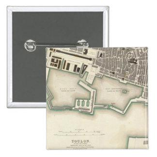 Toulon Pinback Button