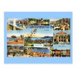 Toulon, tarjeta temprana del multiview, 1920 postales