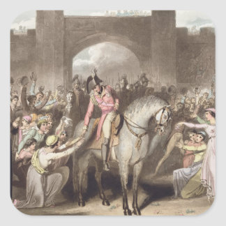 Toulouse, 10th April 1814, from 'The Victories of Square Sticker