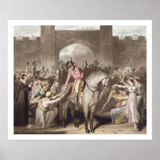 Toulouse, el 10 de abril de 1814, 'de las victoria póster