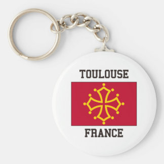 Toulouse, France Keychain
